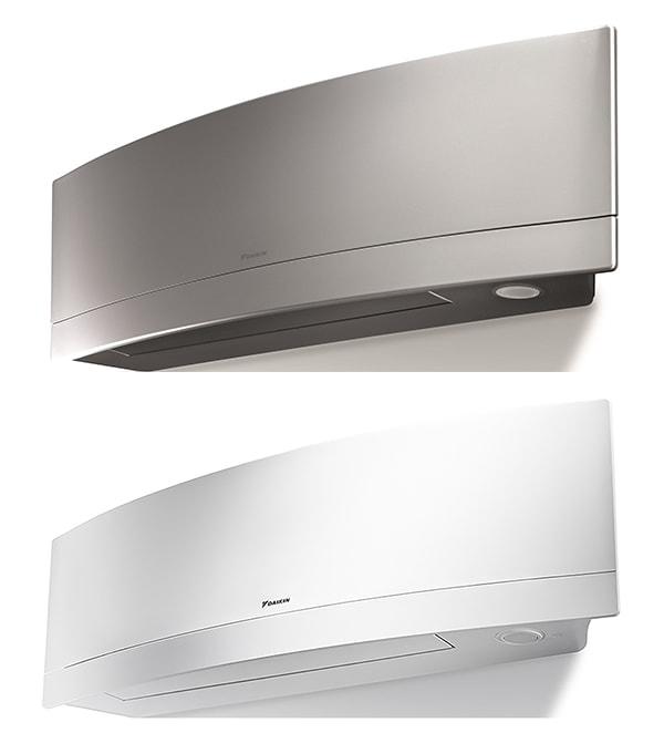Daikin EMURA™ indoor multi-zone ductless unit.