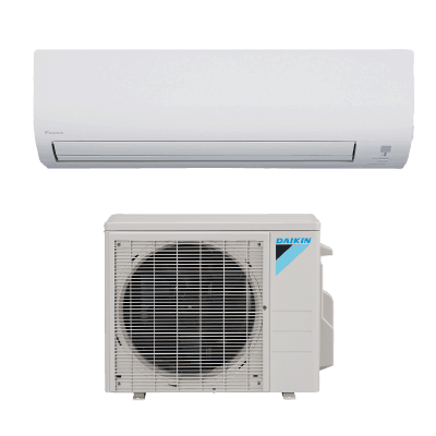 Daikin 15 Series Wall Mount single-zone heat pump.