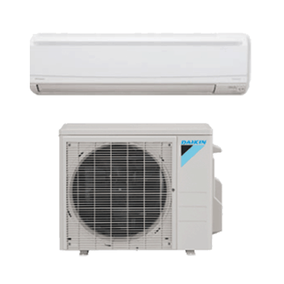 Daikin LV Series Wall Mount single-zone heat pump.