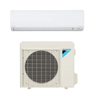 Daikin NV Series Wall Mount single-zone heat pump.