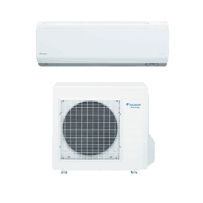 Daikin Quaternity single-zone heat pump.